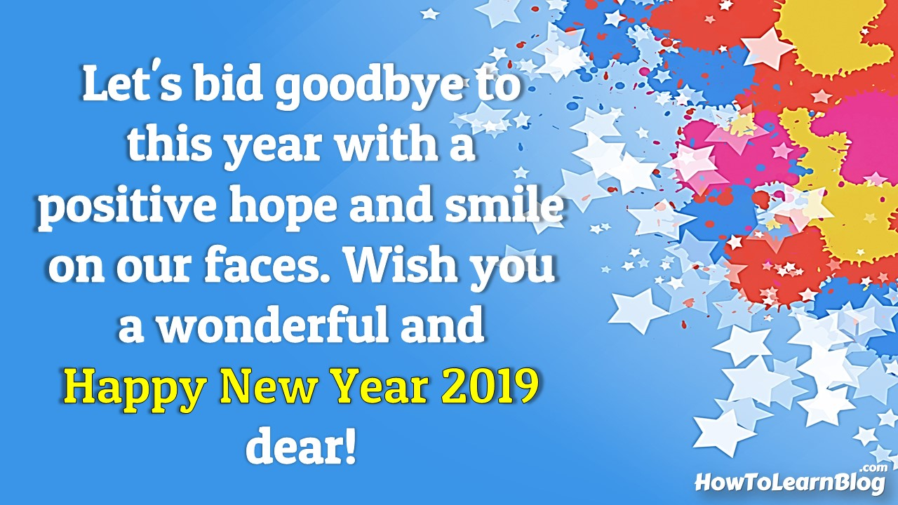 Best Quotes for New Year 2019