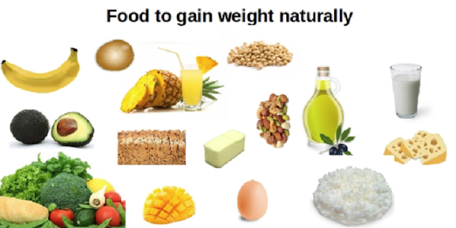 gain weight by eating these foods