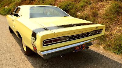 1969 Dodge Coronet Super Bee Hemi Rear Left