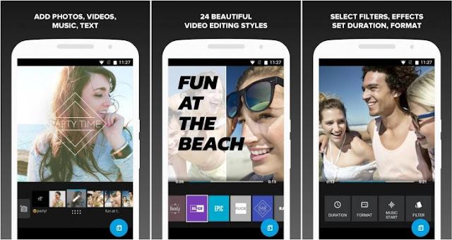 تحميل افضل تطبيق مونتاج صور وفيديو للاندرويد مجانا