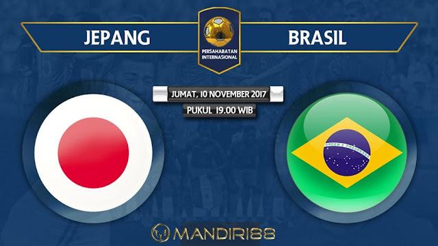 Jepang akan bertanding melawan Brasil dalam pertandingan uji coba di Stade Pierre Berita Terhangat Prediksi Bola : Jepang Vs Brasil , Jumat 10 November 2017 Pukul 19.00 WIB