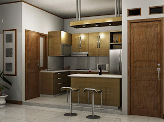 The latest Fresh kitchen design on a Simple Minimalist House