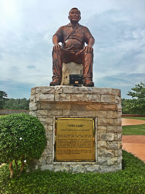 Casiano Dabalos Gerona aka Titi Casi Monument in Tabuelan Cebu