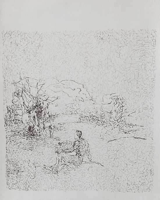 Sergej Jensen, drawing