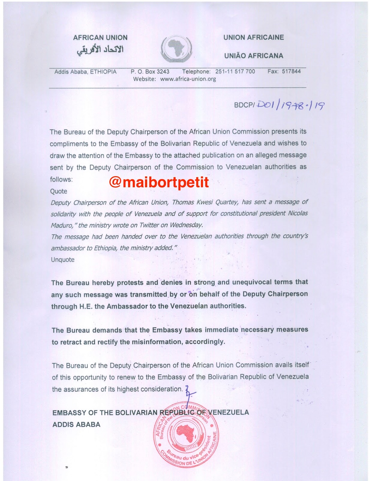 Gobierno (interino) de Juan Guaidó - Página 3 Nota%2Bde%2Bprotesta