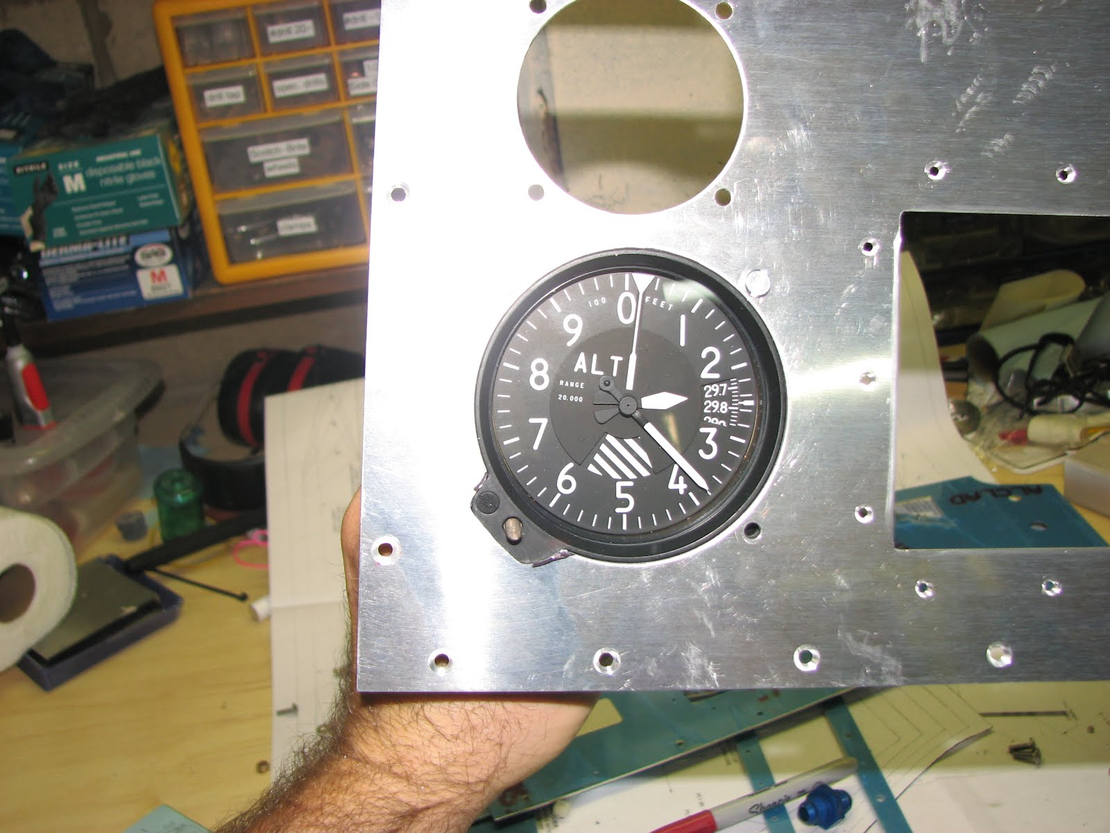 Altimeter Cut Out Template