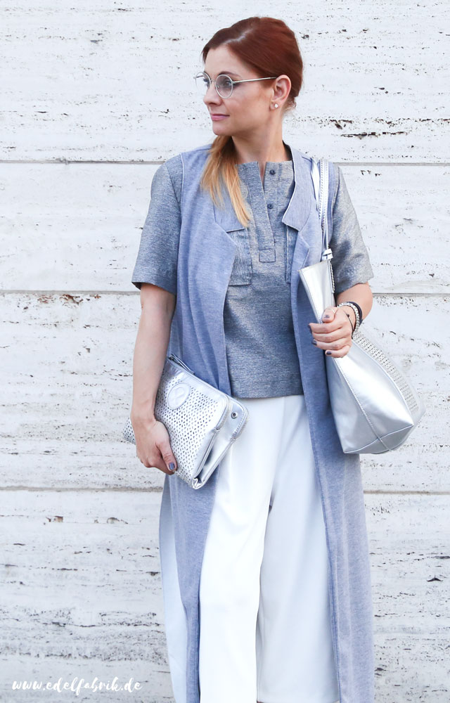 Weiße Culotte kombinieren / Wie style ich Culottes in Weiß?