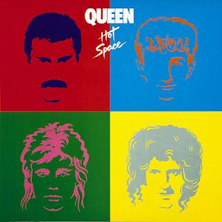 O disco Hot Space foi lançado em 1982 pelo grupo Queen