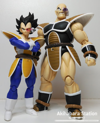 "S.H.Figuarts Nappa de ""Dragon Ball Z"" - Tamashii Nations"