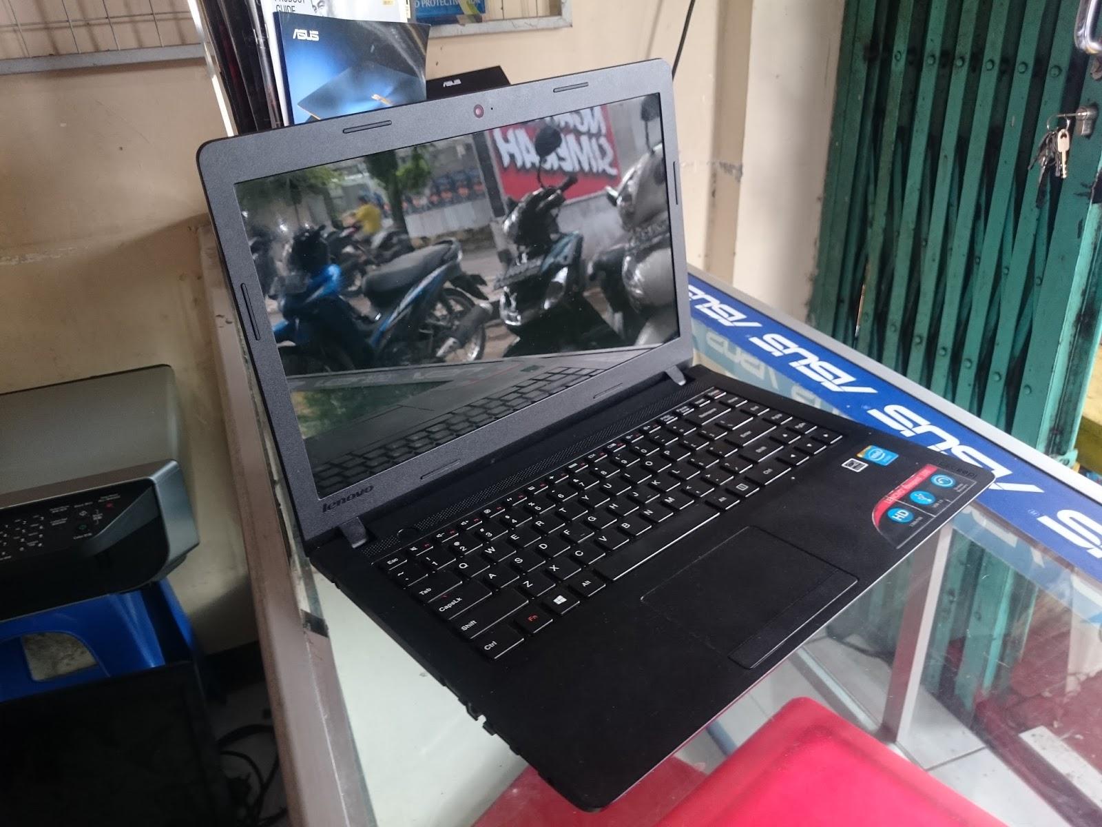 All software lengkap tinggal pakai kelengkapan Unit Laptop Charger Tas Harga Lenovo IdeaPad 100 Rp 2 600 000 SOLD OUT sms wa Phone