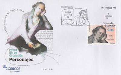 Sobre PDC del sello de Jovellanos en el 200 aniversario de su fallecimiento