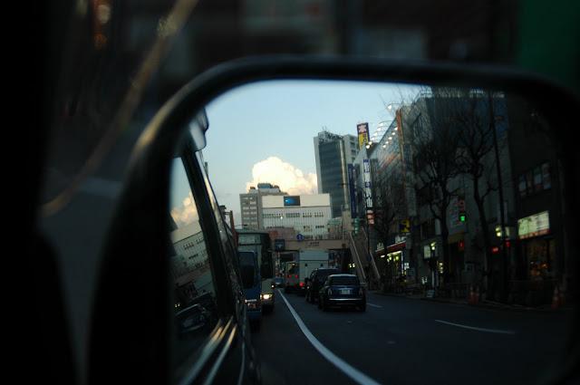 side-mirror サイドミラーと風景