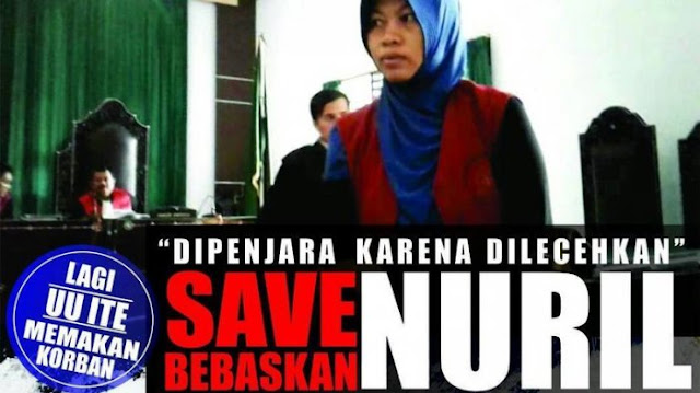 Aksi Solidaritas Warga Dukung Kasus Baiq Nuril, Aktivis Sebut Negara Tak Berpihak pada Perempuan