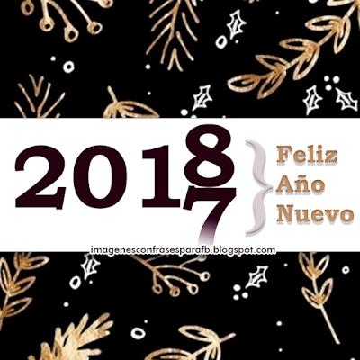 Feliz Año Nuevo 2018.