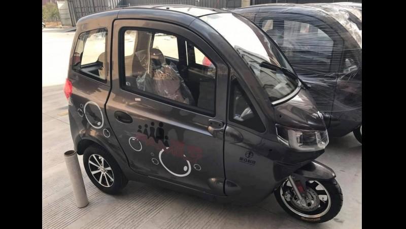 Penampakan Kendaraan Mocin Roda Tiga Buatan China