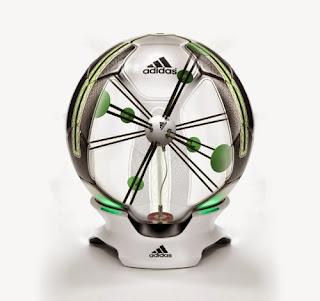 futuristic soccer ball