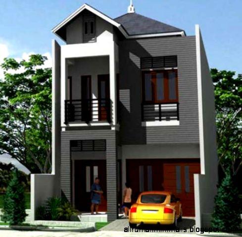 Rumah Bertingkat Minimalis  Design Rumah Minimalis