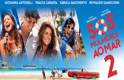 Cartaz do filme Mulheres ao Mar 2