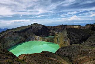 Volkanik Göl Örneği