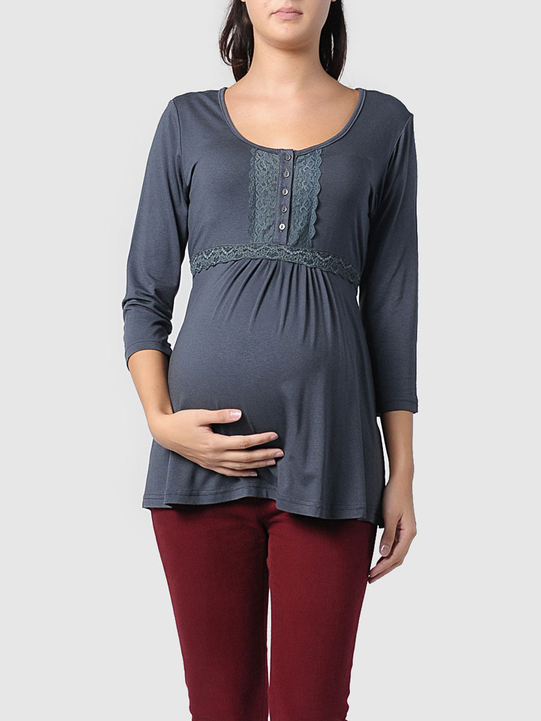 Shop for cute maternity clothes on Groupon. Every day, you'll find stylish yet comfortable maternity tops, dresses, leggings, bras, activewear, and more. Women's Maternity Halloween Long-Sleeve Tee. Women's Maternity Kangaroo Hooded for Baby Carriers Coat.