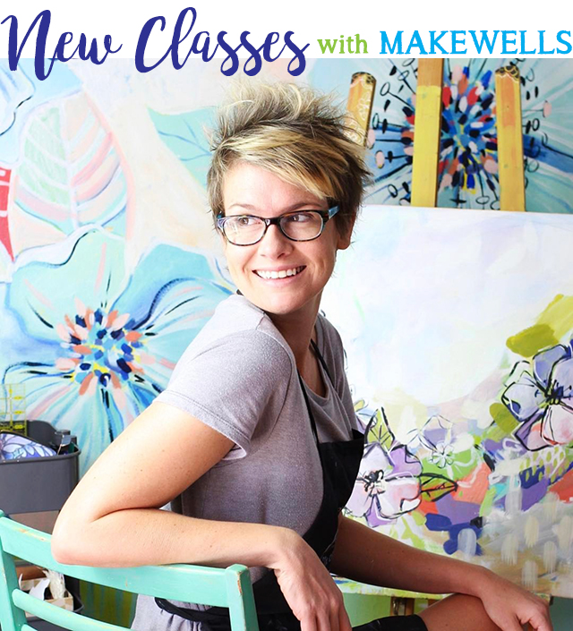 NEW classes from makewells!