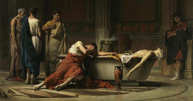 El suicidio de Seneca y la historia de Roma
