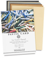 La Carte Pastel card by Sennelier