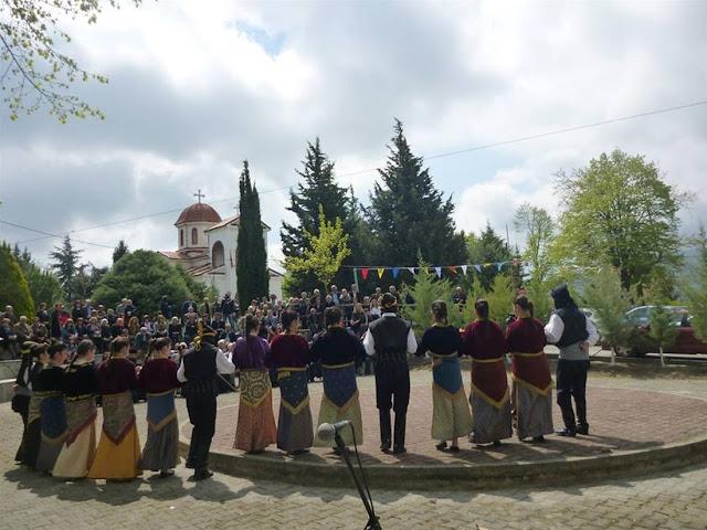Μια ιστορική μονή του Πόντου, γιορτάζει στους πρόποδες του Βερμίου