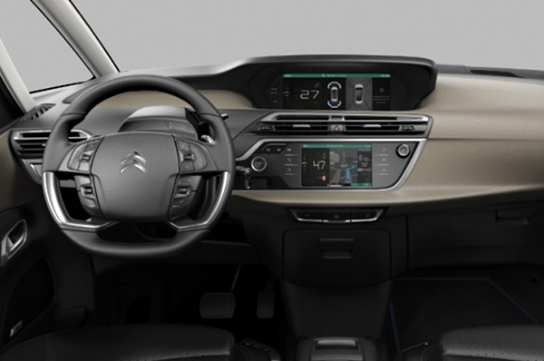 Interior Citroën Grand C4 SpaceTourer