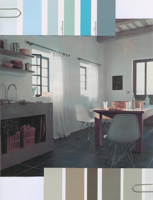 cuisine, ambiance, décor, nuancier