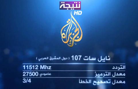 تردد قناة الجزيرة الاخبارية نايل سات 2018