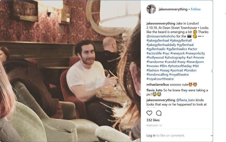 Jake gyllenhaal who is he dating 2018