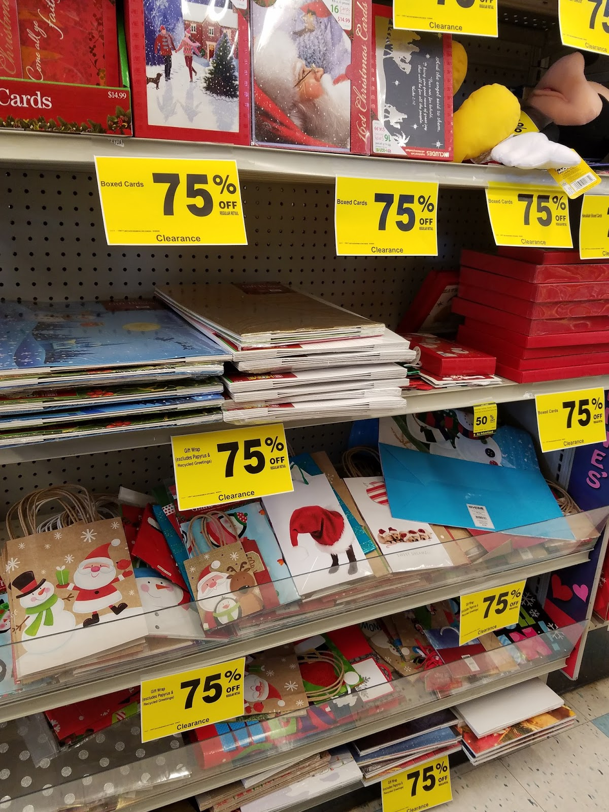 Donevas\' Shopping Cart: CHRISTMAS STILL 75% OFF AT RITE AID