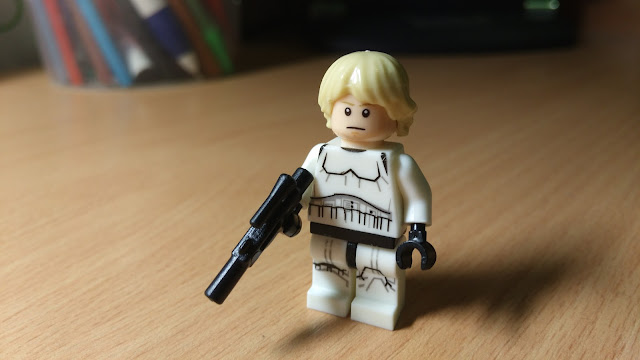 Люк Скайуокер фигурка лего купить Звездные войны