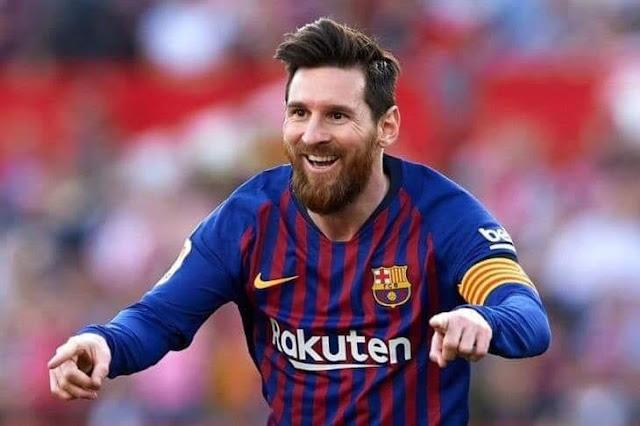 ميسي يتوج بجائزة افضل هداف في تاريخ برشلونة