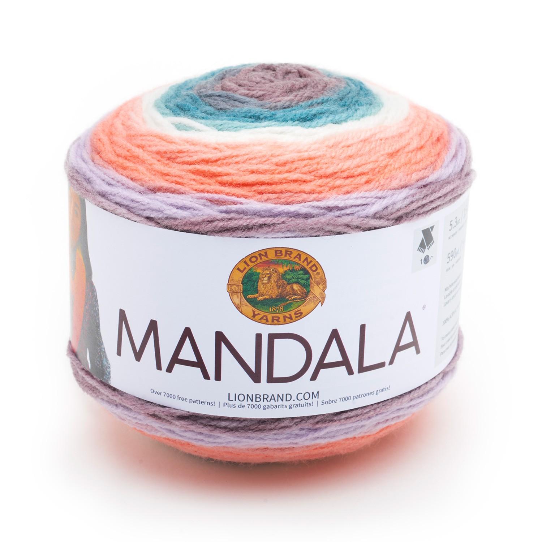 Yarn Review Lion Brand Mandala