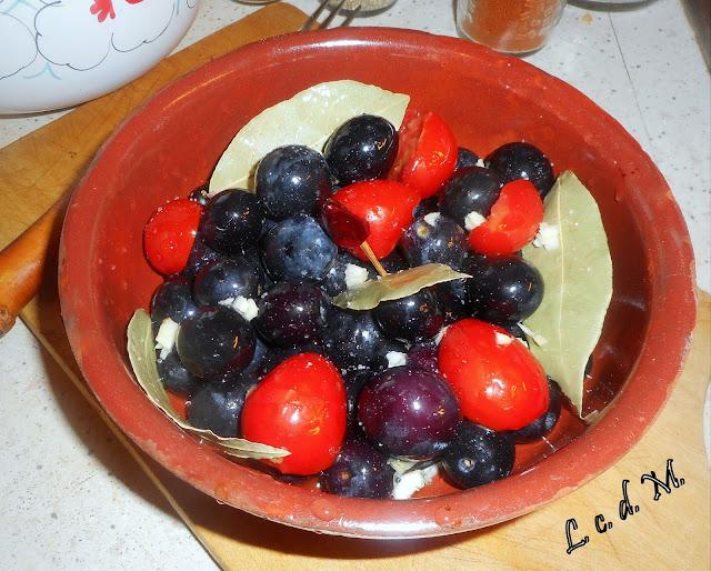 olive nere fresche al forno