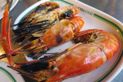 Bangkok, T&K Seafood, river prawns