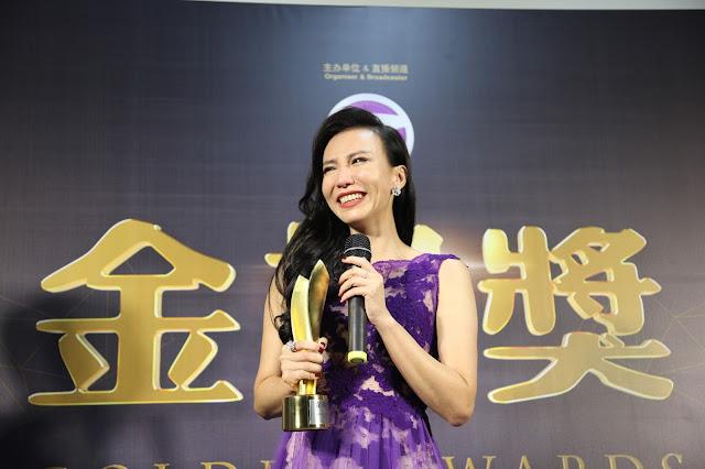 最佳综艺娱乐节目主持人:林佩盈《金视奖2014》