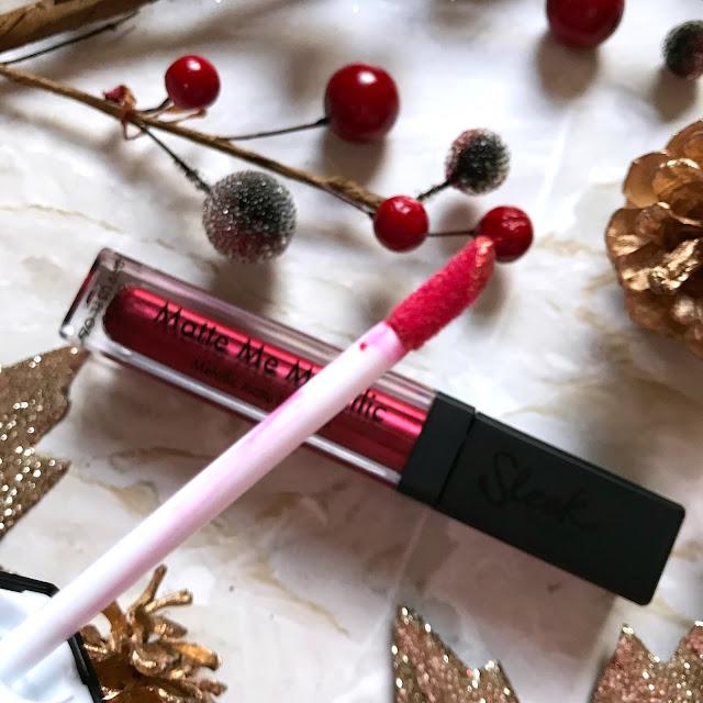 Sleek Makeup Matte Me Metallic Lipgloss