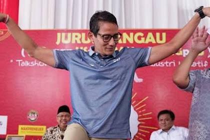 Mendadak Nyekar, Modus Politik Ambisius seorang Sandiaga Uno