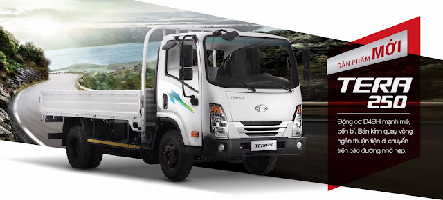 xe tải Teraco 250 Daehan 2,5 tấn