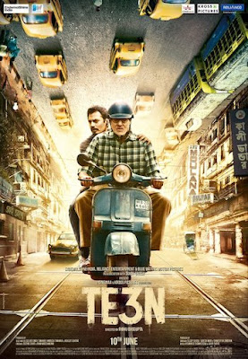 TE3N 2016 Hindi pDVDRip 350mb Bollywood movie hindi movie teen movie dvdscr 480p compressed small size 300mb free download or watch online at world4ufree.pw