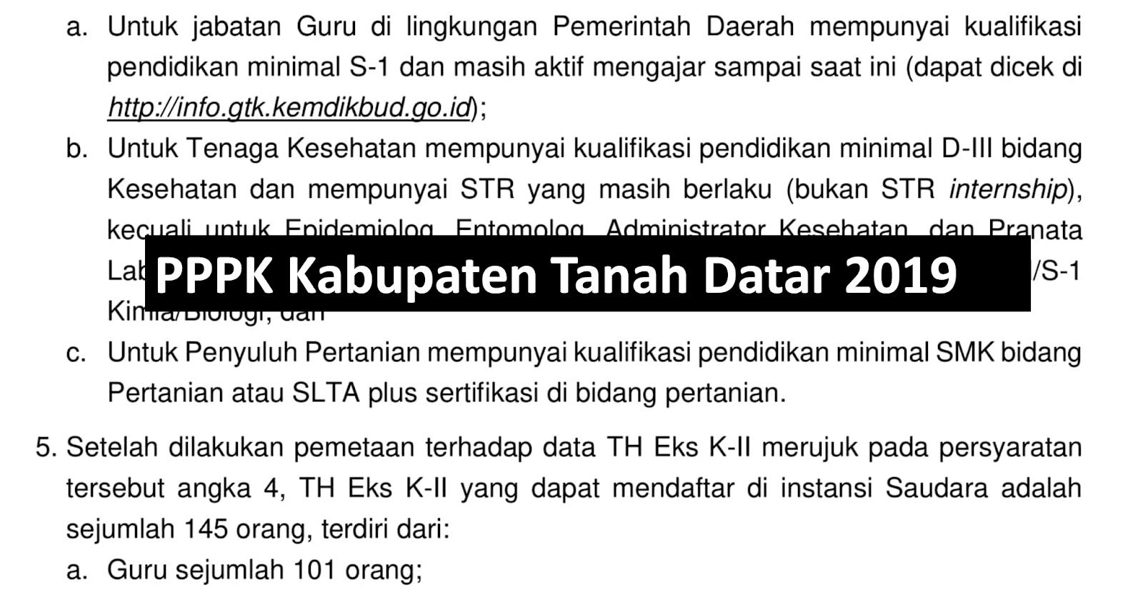 P3k Tahap I Kabupaten Tanah Datar Guru Kesehatan Dan Penyuluh