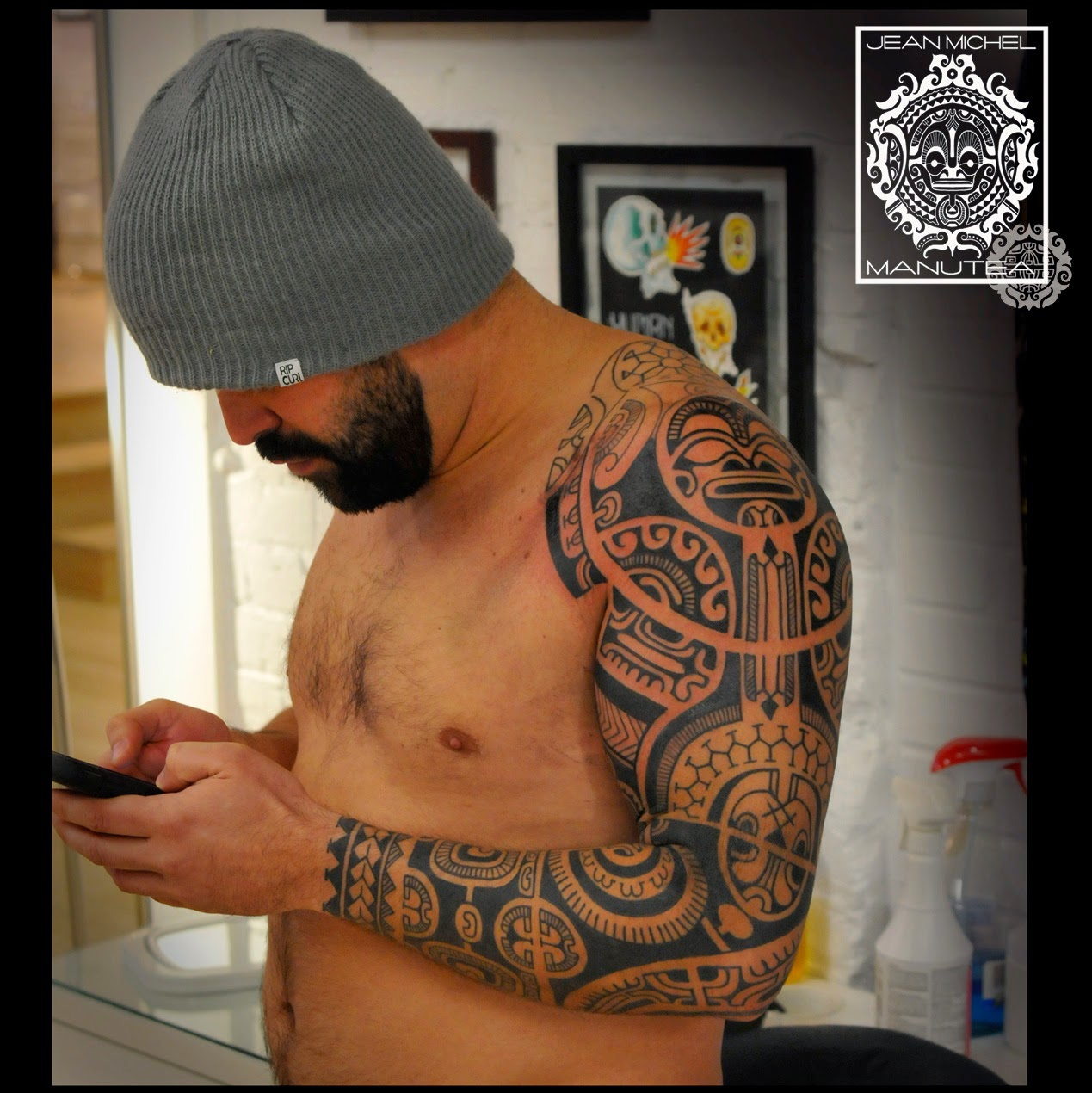Tatouage polynesien tattoo maori dessin personnel site