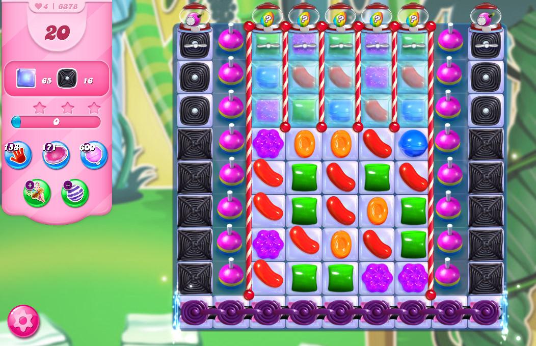 Candy Crush Saga level 6378