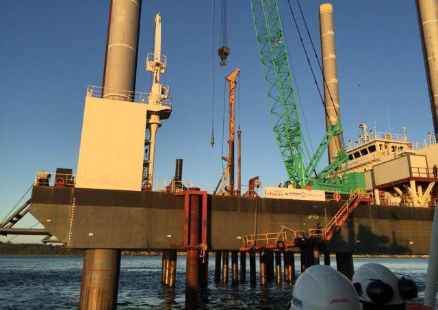 Dirección del Trabajo fiscaliza a constructoras del puente sobre el Canal de Chacao