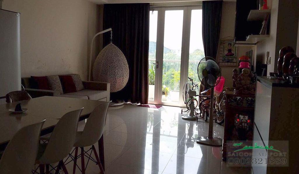 Saigon Airport Plaza cho thuê căn hộ 2PN tầng 5 có sẵn nội thất chỉ $900 - hình 2