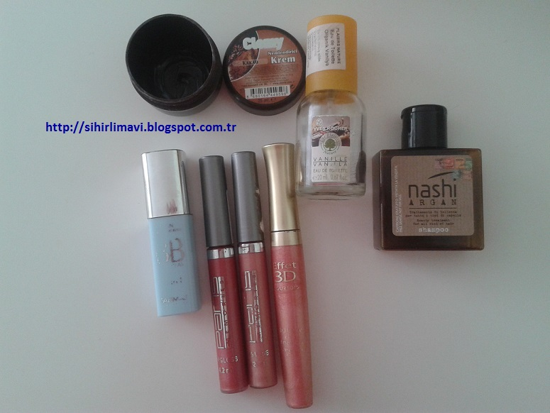 yves rocher, nashi argan, farmasi, clemy, bourjois