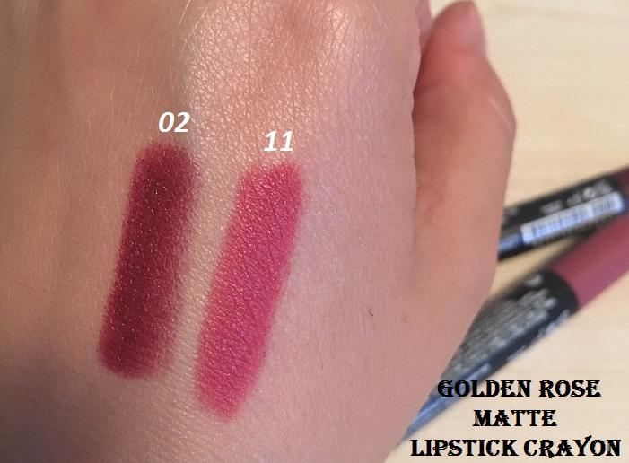 Modaya Dair A101de Golden Rose Matte Lipstick Crayon Rujlar